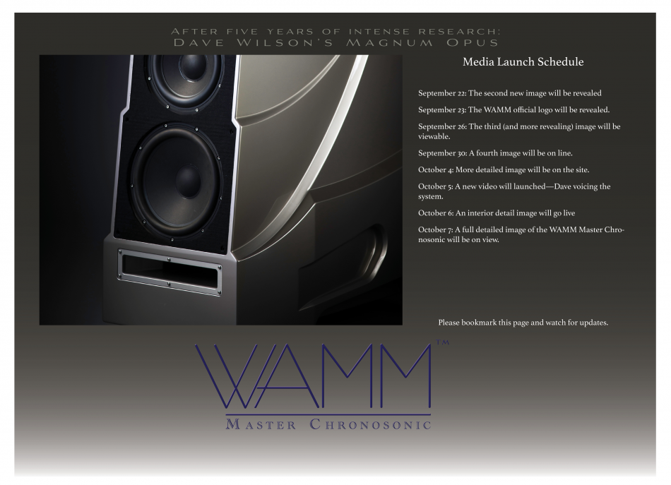 WAMM Master Chronosonic™