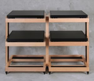 HRS RXR Audio Stand in Maple