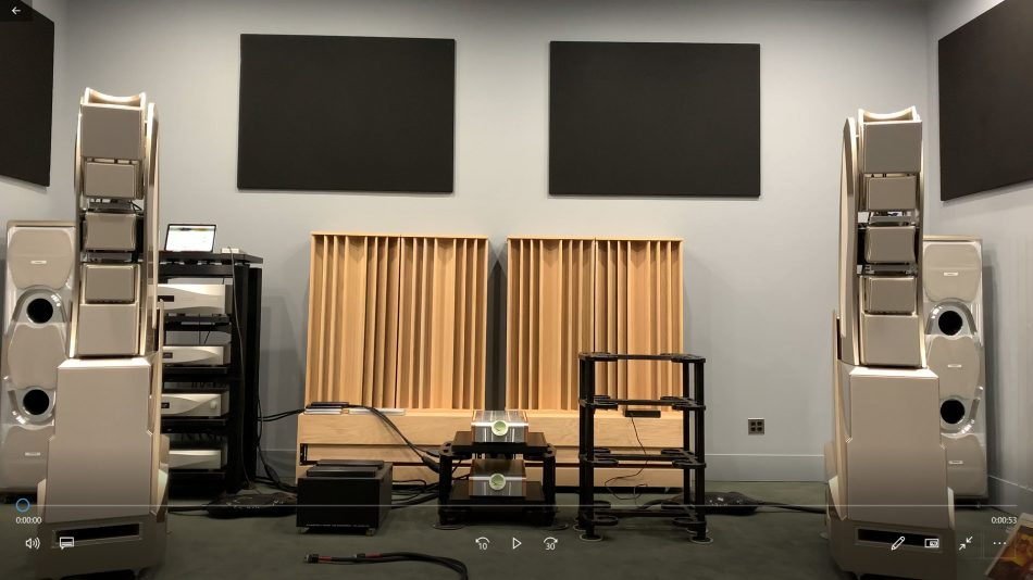 The Audio Salon with WAMM Master Chronosonic loudspeakers